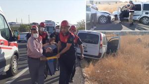 Urfa'da trafik kazası: 1 yaralı