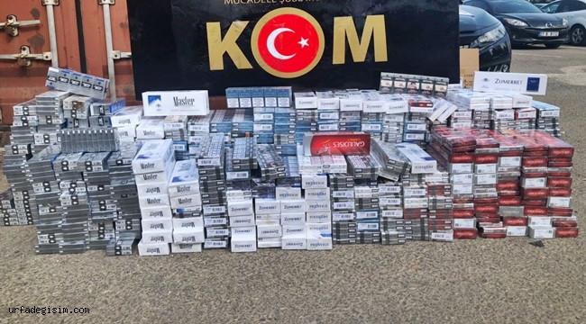 4 bin 540 paket kaçak sigara ele geçirildi