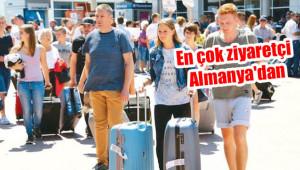 8 ayda Türkiye'ye gelen turist sayısı açıklandı