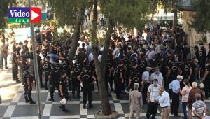 HDP'nin yürüyüşünde 8 kişi gözaltına alındı