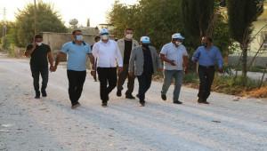 Başkan Kuş kırsaldaki çalışmaları denetledi