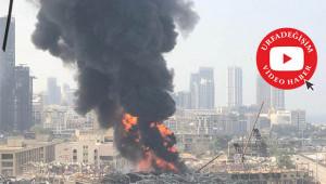 Beyrut limanı yine alev alev