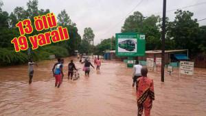 Burkina Faso'da sel felaketi