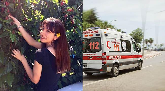 Genç hemşire kazada hayatını kaybetti