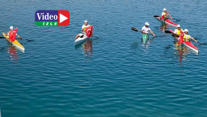 Kano yarışları ile 'Avrupa Spor Haftası' başladı