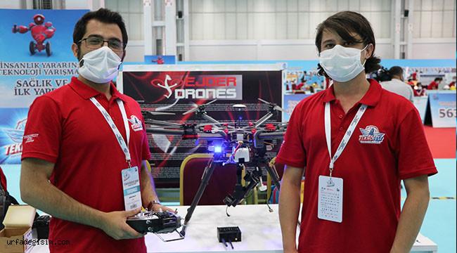 Mayını havadan imha edecek drone yaptılar