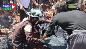 Mülteci kampında yangın: 3 ölü