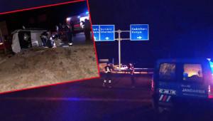 Ölüm Kavşağı'nda kaza: 7 yaralı
