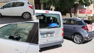 Otomobillerin camını kıran kadın yakalandı
