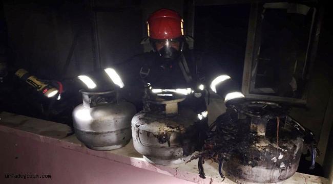 Şanlıurfa'da evde çıkan yangın söndürüldü