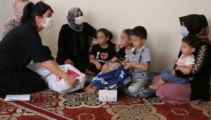 Şiddet gören aileye bir destekte Büyükşehir'den