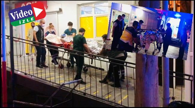 Suriye'deki saldırıda yaralananlar Ceylanpınar'a getirildi