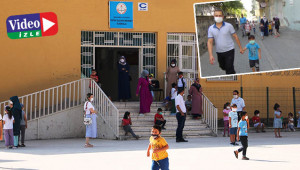Urfa'da yüz yüze eğitim sevinci