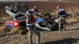 Aile fertleri kazayı ucuz atlattı