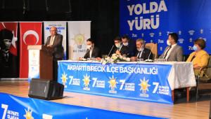 Ak Parti Birecik İlçe kongresi yapıldı
