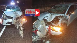 Baba-oğul kazada hayatını kaybetti