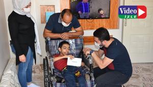 Engelli Diyar'ın hayali gerçek oldu