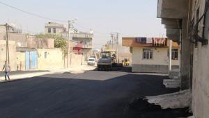 Eyyübiye'de yollar yenileniyor