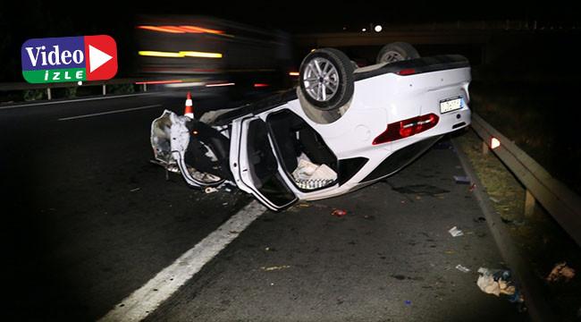 Feci kazada 2 kişi öldü 9 kişi yaralandı