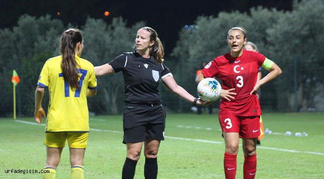 Kadınlar Avrupa Şampiyonası: Türkiye:0 - Kosova: 0