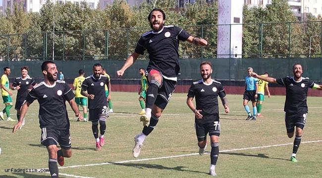 Karaköprü Belediyespor 3. tura yükseldi