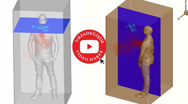 Koronavirüsün yayılma simülasyonu yapıldı