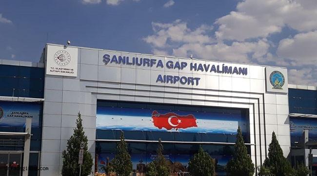 Şanlıurfa havalimanı için flaş gelişme