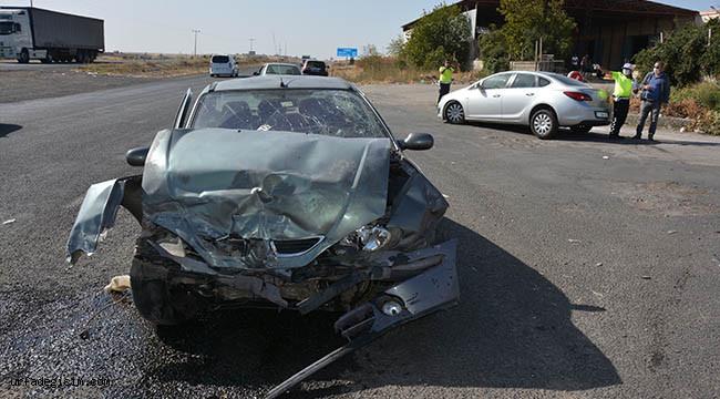 Siverek'te kaza: 3 yaralı