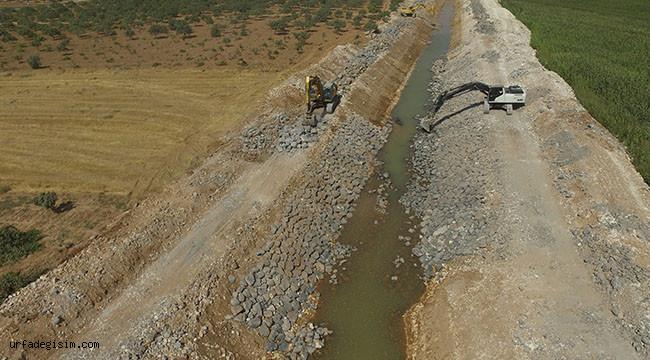 Tahliye kanalları ile su baskınları önlenecek