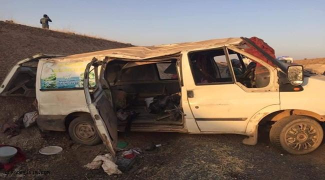 Tarım işçileri yine kaza geçirdi: 1 ölü, 11 yaralı