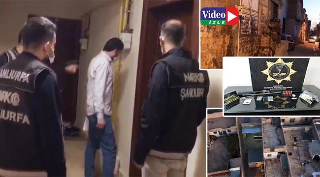 Urfa'da torbacılara operasyon: 9 gözaltı