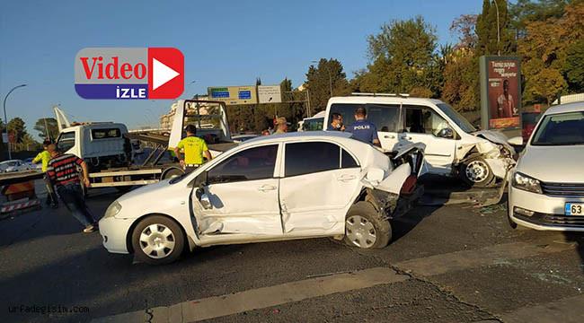 Urfa'da zincirleme kaza