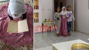 10 yaşında Kur'an-ı Kerim'i hatmetti