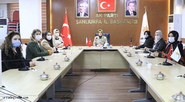 AK Partili Kadınlardan şiddet açıklaması