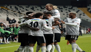 Beşiktaş ilk kez kalesini kapattı