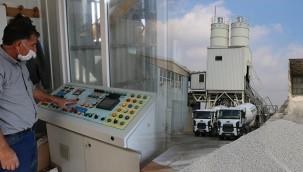 Beton santrali üretime hazır