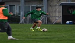 Bursaspor'da Ümraniyespor maçı hazırlıkları başladı