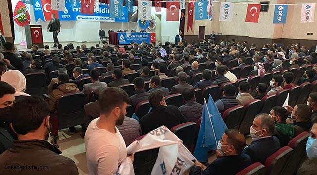Ceylanpınar'da kongre heyecanı yaşandı