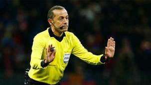 Cüneyt Çakır UEFA maçı yönetecek