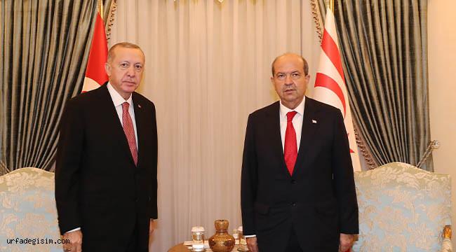 Erdoğan, Tatar ile bir araya geldi