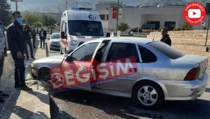Eyyübiye'de trafik kazası: 1 yaralı
