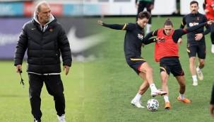 Galatasaray, Kayserispor maçına hazırlanıyor
