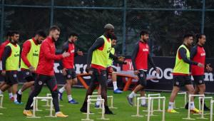 Gaziantep FK, Beşiktaş maçı hazırlıklarını sürdürüyor
