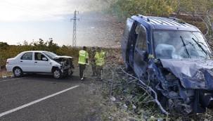Halfeti'de kaza: 1 yaralı