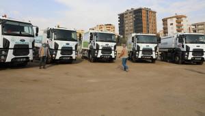 Haliliye Belediyesi temizlik araçları aldı