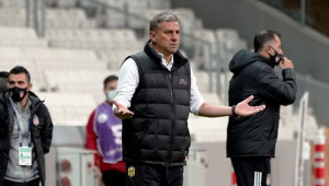 Hamzaoğlu'nun Beşiktaş şanssızlığı
