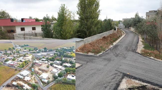 Harran'da kırsal asfalt çalışması tamamlandı