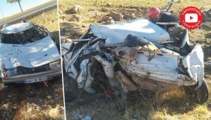Havaalanı yakılarında feci kaza: 2 ölü, 2 yaralı