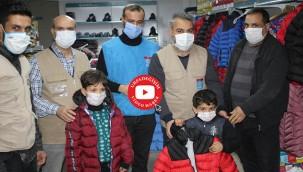İhtiyaç sahibi çocuklara kışlık yardım