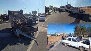 İki araç çapıştı: 2 yaralı